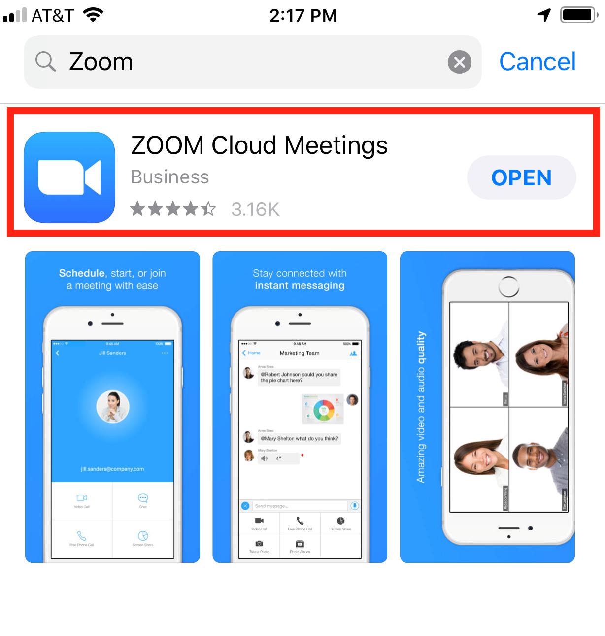 Cách sử dụng Zoom trên điện thoại