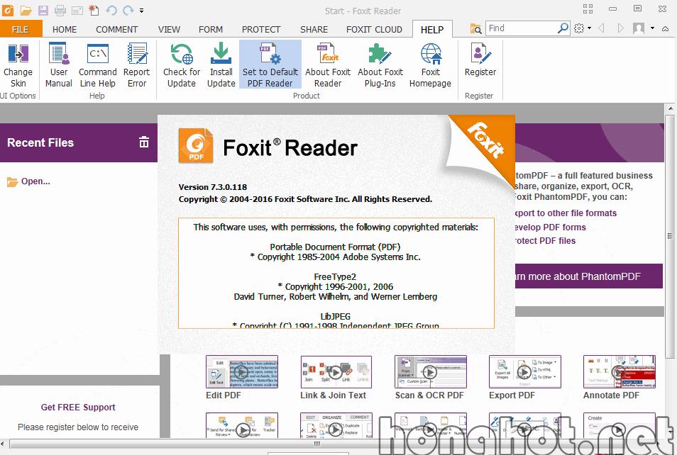 Phần mềm Foxit Reader
