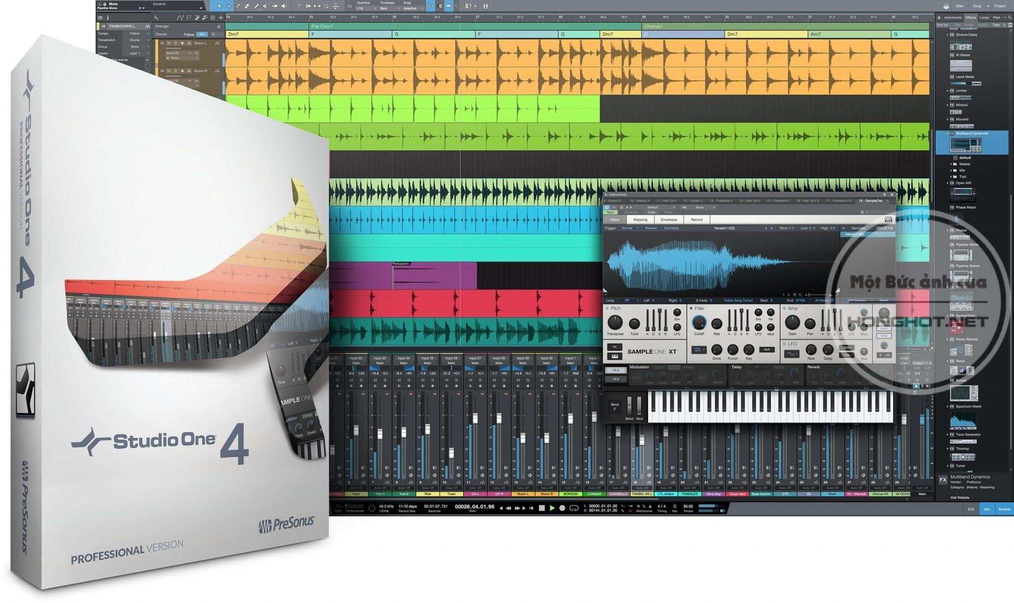 Phần mềm Presonus Studio One