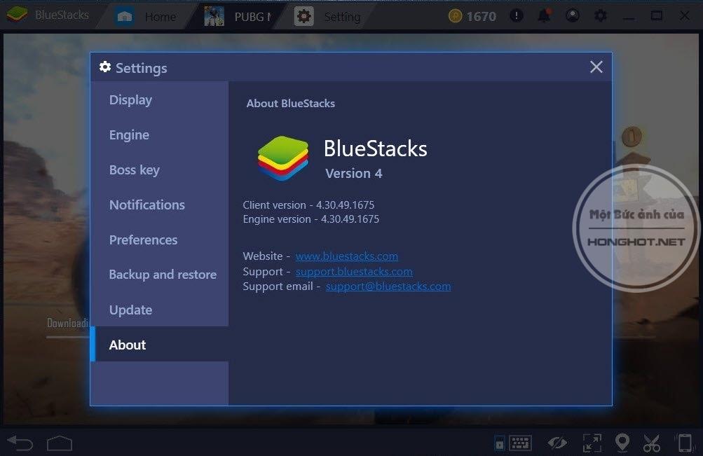 Trình giả lập BlueStacks
