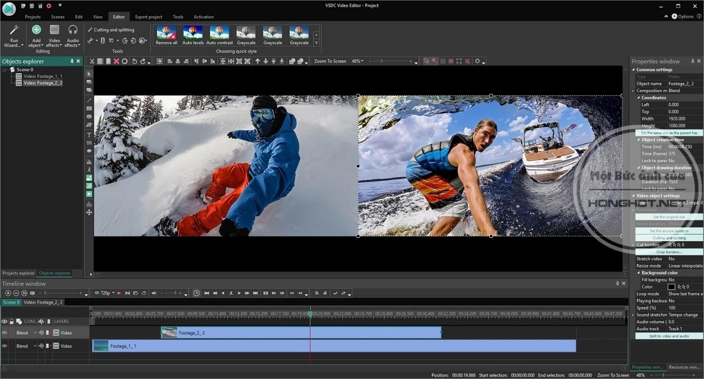 VDSC Free Video Editor
