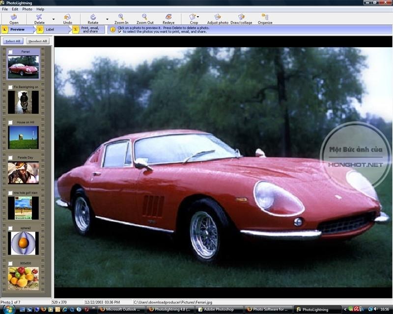 Phần mềm Photolightning