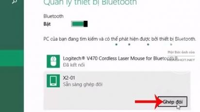 Cách kết nối bluetooth laptop với loa ngoài trên Win 7/8.1/10