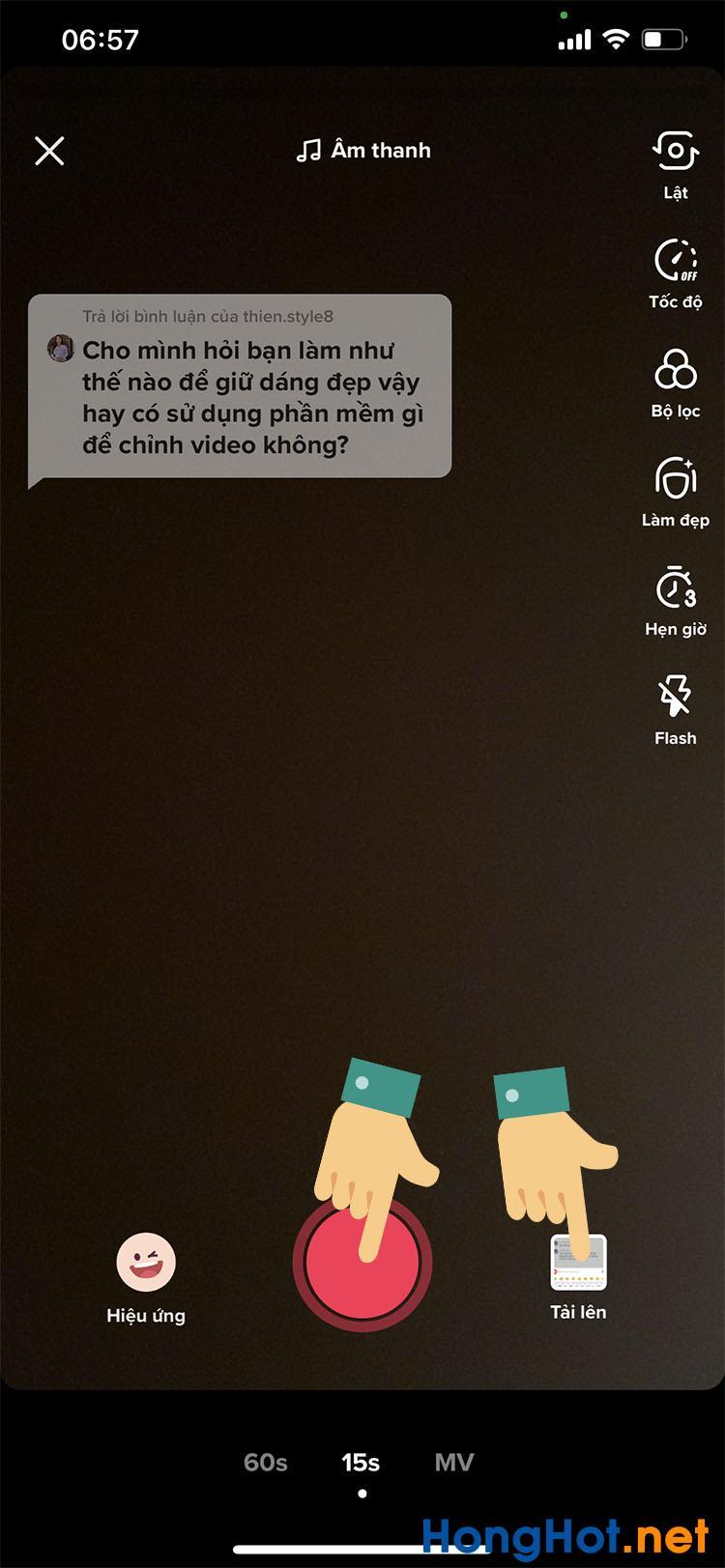 Cách ghép bình luận vào video Tik Tok 6