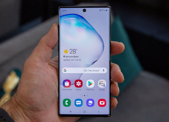 Giá thay màn hình Samsung Note 10 là bao nhiêu