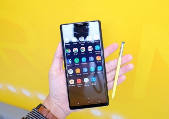 Làm gì khi màn hình Samsung Note 9 bị vỡ