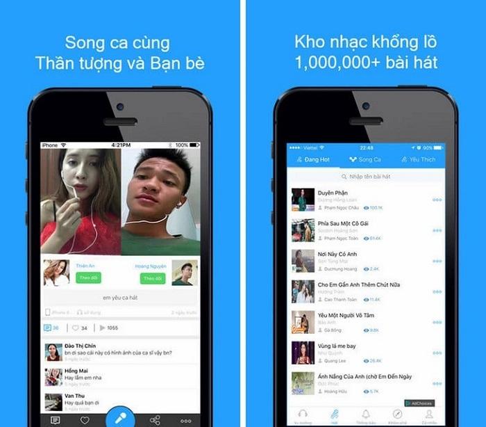 Ứng dụng hát Karaoke hay nhất cho điện thoại