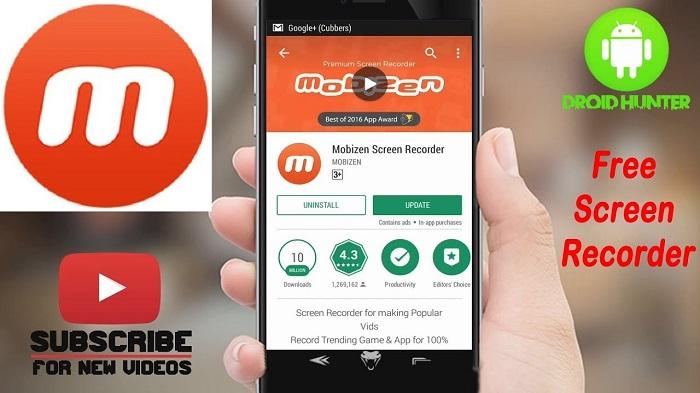 Top ứng dụng quay màn hình điện thoại Android tốt nhất